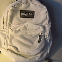 Jansport Backpack  White Photo