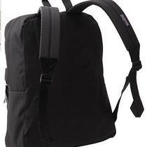 Jansport Backpacks Black Bag School Canvas Sport Student College Book Books New Photo
