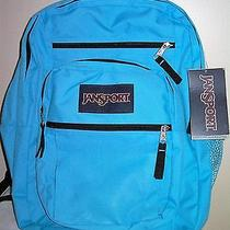 Jansport Big Student Backpack - Book Bag - Blue Photo