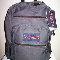 Jansport Big Student Backpack - Book Bag - Gray Photo