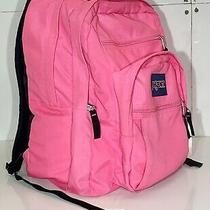 Jansport Big Student Backpack Bookbag Travel Hiking - Xl Size Photo