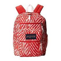 Jansport Big Student Backpack Coral Peaches Wild at Heart Book Bag  Photo