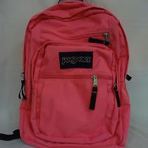 Jansport Big Student Backpack Fluorescent Pink - Ds3bx01-38 Photo