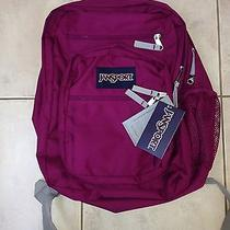 Jansport Big Student Backpack Nwt Berrylicious Purple Tdn79zi Photo