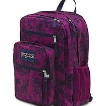 Jansport Big Student Backpack - Vintage Book Case Bag Floral New Photo