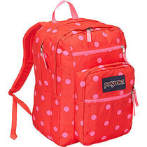 Jansport Big Student Backpack Wilcoral Polka Dot Christmas Gift College Photo