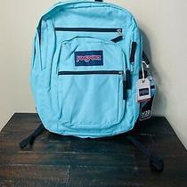 Jansport Big Student H20 Pocket Tropical Teal Backpack Photo