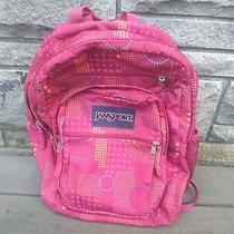 Jansport Big Student Multi-Colored Tdn7 Laptop Compartment Geometric Backpack Photo
