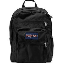 Jansport Big Student Solid Colors Backpack Black Photo