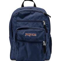 Jansport Big Student Solid Colors Backpack Navy Photo