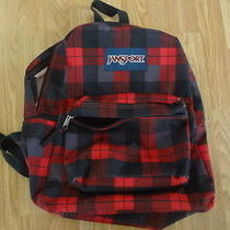 Jansport Black and Red Backpack Photo
