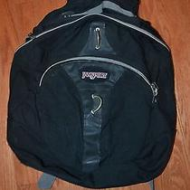 Jansport Black Backpack Photo