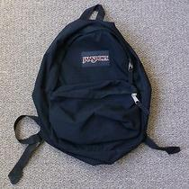 Jansport Black Backpack Book Bag Photo