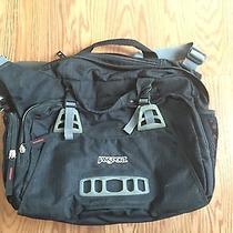 Jansport Black Laptop Messenger Bag Photo