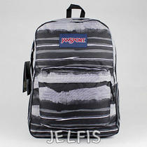 Jansport Black Superbreak Backpack Multi Black Painted Stripes T50106j Photo