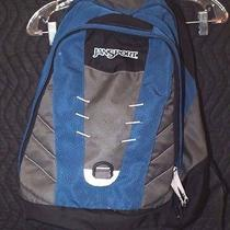 Jansport Blue and Gray Backpack Photo