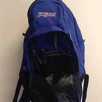 Jansport Blue Backpack With Laptop Section - Great Condition Photo