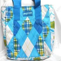 Jansport Blue Designed Tote Photo