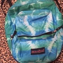 Jansport Blue Green Backpack Photo