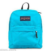 Jansport Blue School Cell Phone Textbook Calculator Carrying Superbreak Backpack Photo