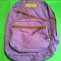 Jansport Book Bag Back Pack Royal Blue Photo