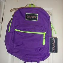 Jansport Book Bag Backpack. Girls or Boy  New With Tags Padded  Straps Photo