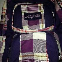 Jansport Bookbag Backpack College Back to School Study Dorm Photo