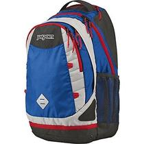 Jansport Boost Backpack - Blue Streak/high Risk Red / 23.1