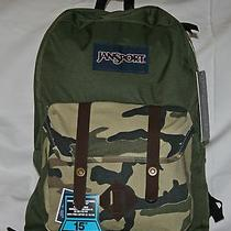Jansport Breakster Backpack Camo  Free Shipping Photo