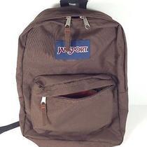 Jansport Brown Backpack - T501 Photo
