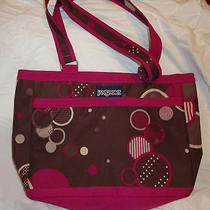 Jansport Brown Tote Bag Photo
