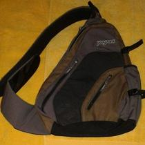 Jansport Canvas Cross Body Sling Bag Backpack Biking Hiking Camping  Photo
