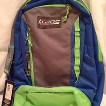 Jansport Capacitor Book Laptop Backpack - Grey/blue Photo