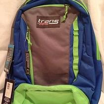Jansport Capacitor Book Laptop Backpack - Grey/blue Photo