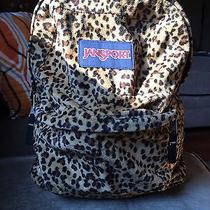 Jansport Cheetah Print Bookbag Photo