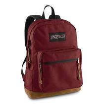 Jansport Classic Right Pack School Backpack Solid Color Viking Red 15