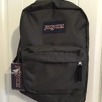 Jansport Classic Superbreak Backpack Bag High School College- Forge Grey Photo