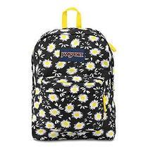 Jansport Classicsuperbreak Backpack Black Lucky Daisy School College Free Ship Photo