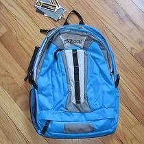 Jansport Coho Backpack Laptop Day Pack Sleeve Swedish Blue Nwt Photo