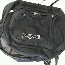 Jansport Computer Backpack Black 6 Compartments  Photo