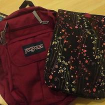 Jansport Digital Friendly Laptop Backpack Berrylicious/purple W/ Laptop Sleeve Photo