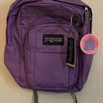 Jansport Digital Student Backpack/laptop Sleeve Color Vivid Lilac Js00t69d3p0 Photo