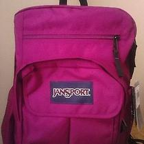 Jansport Digital Student Laptop Backpack Berrylicusprple T19w9zi   Photo