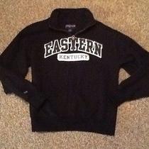 Jansport Eastern Kentucky Half Zip Sweatshirt College Varsity Pop Collar Photo