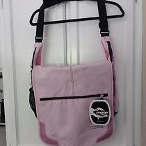 Jansport Elefunk Bag Computer Messenger Laptop Cross Body Tote Pink Photo