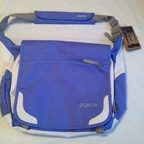 Jansport Elefunk Messengercomputer Bag Luscious Lavender Nwt Photo
