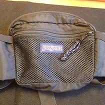 Jansport Fanny Pack Black With Water Bottle Holders Photo