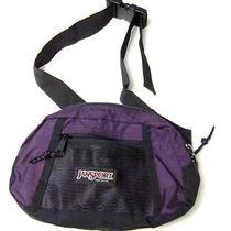 Jansport Fanny Pack Purple and Black Photo