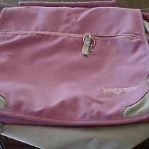 Jansport Female Pink Laptop  Messenger Bag Photo