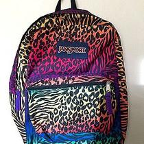 Jansport Fun Leopard Print Backpack  Photo